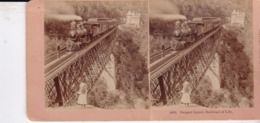 1891 / KILBURN 6810 / DANGER SIGNAL / RAILROAD OF LIFE - Stereoscopic