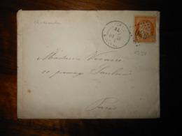 Enveloppe GC 930 Chateaudun Eure Et Loire - 1849-1876: Période Classique