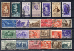 Italia - Regno - Anni Vari - Lotto 25 Francobolli - Usati - Vedi Foto - (FDC17486) - Lotti E Collezioni