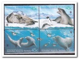 Australisch Antarctica 2001, Postfris MNH, Penguins, Birds, Seal, WWF - Australisch Antarctisch Territorium (AAT)