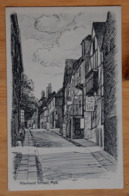 Rye - Mermaid Street - Plan Inhabituel / Unusual View - Dessin à La Plume Ou D'après Gravure ??? (n°16264) - Rye