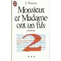 Monsieur Et Madame Ont Un Fils Tome 2 A.nonyme+++TBE+++ LIVRAISON GRATUITE - Libros, Revistas, Cómics