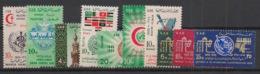 Palestine - Egypt Occupation - 1964-65 - N°Yv. 118 à 127 - 10 Valeurs - Neuf Luxe ** / MNH / Postfrisch - Palestina