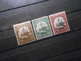 D.R.Mi 30 L*MLH/ 31*MLH/ 35**MNH - Deutsche Kolonien ( Deutsch-Ostafrika ) 1905/1920 - Mi 13,40 € - Colony: German East Africa
