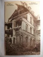Carte Postale Saint Omer (62) Pensionnat Saint Joseph - Ruines Du Réfectoire Et De L'Infirmerie ( Petit Format 1932 ) - Saint Omer