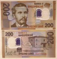 Albania 200 Leke P-new 2019 UNC Polymer Banknote - Albania