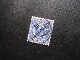 D.R.Mi 9  10P Auf 20Pf - Deutsche Kolonien ( Deutsch-Ostafrika ) 1896 - Mi 6,50 € - Kolonie: Duits Oost-Afrika
