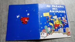 Au Paradis Des Animaux Alain Saint Ogan N°7 La Vache Qui Rit  Illustré Enfantina - Livres, BD, Revues