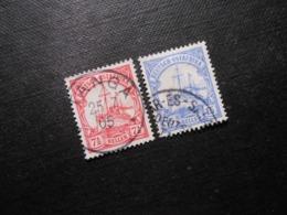 D.R.Mi 24/ 25b - Deutsche Kolonien ( Deutsch-Ostafrika ) 1905/1919 - Mi 9,50 € -Superstempel - Kolonie: Duits Oost-Afrika