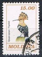 1993 - MOLDAVIA / MOLDOVA - UCCELLO UPUPA / BIRD HOOPOE - USATO / USED - Moldova