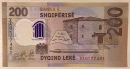 Albania 200 Leke P-new 2019 REPLACEMENT UNC Polymer Banknote - Albania