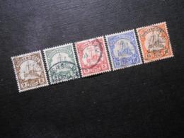 D.R.Mi 11-15 - Deutsche Kolonien ( Deutsch-Ostafrika ) 1901 - Mi 21,40 € - Kolonie: Duits Oost-Afrika