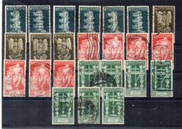 Italia - Regno - 1937 - Bimillenario Della Nascita Di Augusto - Lotto 24 Francobolli - Usati - Vedi Foto - (FDC17487) - Lotti E Collezioni