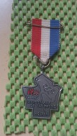 Medaille :Netherlands  - .Heidenmars , De Trekkers Holten  / Vintage Medal - Walking Association - Nederland