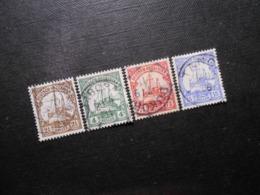 D.R.Mi 30 L/31/ 32a/ 33b - Deutsche Kolonien ( Deutsch-Ostafrika ) 1905/1920 - Mi 5,80 € - Colony: German East Africa