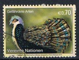 2012 - ONU / UNITED NATIONS - VIENNA / WIEN - UCCELLO FAGIANO / BIRD PHEASANT - USATO / USED - Vienna - Ufficio Delle Nazioni Unite