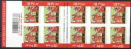 NB - [90751]SUP//ND/Imperf-B63, Croix-Rouge. Carnet De 10 Timbres. - Belgique