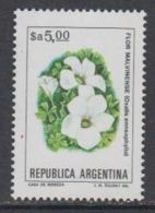 Argentina 1983 Flor Malvinense / Falkland Flower 1v ** Mnh (44946) - Argentinië
