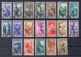 Italia Repubblica - 1950 - Serie Completa Italia Al Lavoro - 19 Valori - Usati - Vedi Foto - (FDC17488) - Lotti E Collezioni