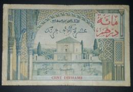 10000 Francs /100 Dirhams Maroc - Marocco