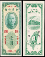 TAIWAN - BANK Of TAIWAN - 1 YUAN (1949) - CHINA - Taiwan