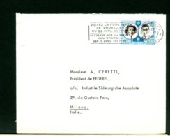BELGIE  -  VISITEZ LA FOIRE DE BRUXELLES  1961 - Fabbriche E Imprese