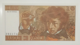 BILLET  10 FRANCS BERLIOZ Du 5-8-1976 * E293 393174 * 1 épinglage - 1962-1997 ''Francs''