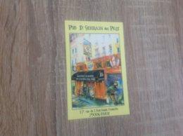 Carte De Visite De Pub   Saint Germain Des Près   Paris - Cartoncini Da Visita