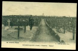 CPA WERVICQ  CIMETIERE  ALLEMAND / W47 - Francia