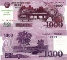 NORTH KOREA     1000 Won      Comm.       P-CS21       J. 97 / 2008 (2018)        UNC - Corea Del Nord