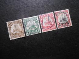 D.R.Mi 30 L/ 31/ 32a/ 35 - Deutsche Kolonien ( Deutsch-Ostafrika ) 1905/1920 - Mi 14,00 € - Kolonie: Duits Oost-Afrika