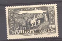 Andorre  :  Yv  86  ** - Neufs