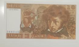 BILLET  10 FRANCS BERLIOZ Du 2-3-1978 * Y.303 388545 * Pli Angle Supérieur Gauche - 1962-1997 ''Francs''