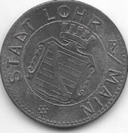 *notgeld  Lohr 10 Pfennig 1919 Zn  F305.5b - Andere