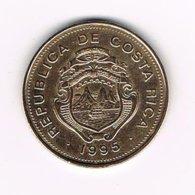 // COSTA RICA  25 COLONES  1995 - Costa Rica