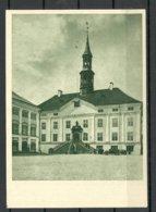 Estland Estonia 1956 Narva Rathaus Manor House Unused - Estonie