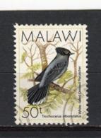 MALAWI - Y&T N° 523° - Faune - Oiseau - Trochocerus Albonotatus - Malawi (1964-...)