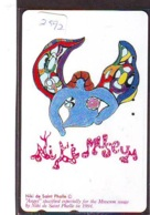 Télécarte Japon * PEINTURE * NIKI DE SAINT PHALLE  * ART (2592) Japan * Phonecard * KUNST TELEFONKARTE - Malerei