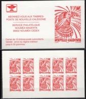 """Nle-Caledonie Carnet YT C748 """" Cagou Adhesif VP Rouge """" 1998 Non Plié - Booklets"""