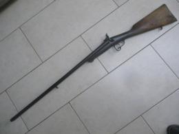 Ancien Fusil De Chasse à Broche, Cal 16, à Poudre Noire, Système LEFAUCHEUX - Decotatieve Wapens