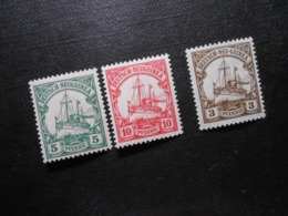 D.R.21 L*MLH/ 22 L*MLH/ 24**MNH - Deutsche Kolonien (Deutsch-Neuguinea) 1914/1918 - Mi 12,00 € - Colonia: Nueva Guinea
