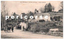 24  Saint Genies  Entrée Du Bourg Route De Salignac - France