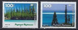"""Nle-Caledonie YT 772 & 773 """" Paysages """" 1998 Neuf** - Nouvelle-Calédonie"""