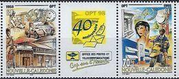 """Nle-Caledonie YT 776 & 777 """" Office Des Postes Et Télécommunications """" 1998 Neuf** - Nuovi"""
