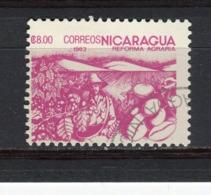NICARAGUA - Y&T N° 1309° - Réforme Agraire - Cacao - Nicaragua