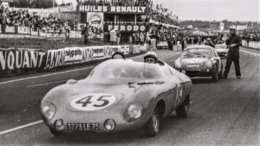 DB Panhard 850 - Pilotes: André Moynet/Jean-Claude Vidilles  (Concurrents Francaises Du Mans 1961) - PHOTO 15x10cms - Le Mans