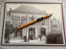 """Sivry Rance Photo Unique De Village  Laiterie """"Royal Beurre""""  Animée -  30x24 Avec Passe Partout - Lieux"""