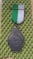 Medaille :Netherlands  -  15 Jaar - W.S.V Razen De Bol - Den Helder  / Vintage Medal - Walking Association - Nederland