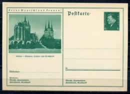 """German Empires 1932 Kopfbild F.Ebert GS Mi.Nr.P202//011 """"Lernt Deutschland Kennen!-Erfurt-,Dom""""1GS Ungebraucht - Germany"""