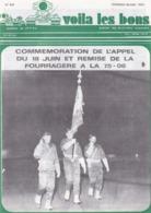JOURNAL MILITAIRE  DU 11 EME REGIMENT DE CHASSEURS DU 27 JUIN 1975 A 19 NOVEMBRE 1975   23 JOURNAUX - Revues & Journaux